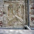 Interieur, detail van muur met restant van muurschildering - Kloetinge - 20381913 - RCE.jpg