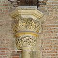 Interieur, detailopname van kapiteel, voor restauratie - Leiden - 20359809 - RCE.jpg