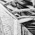 Interieur balk waartegen ribben zuid zijbeuk, van gewelfbeschot - Diessen - 20057358 - RCE.jpg