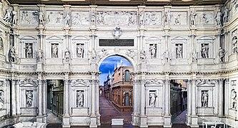 Interior of Teatro Olimpico (Vicenza)