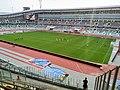 Interior view of Dynamo Stadium (Minsk, Belarus) — Внутренний вид стадиона Динамо (Минск, Беларусь) 2018 1.jpg