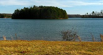 Lake Keowee - Another view.
