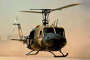 Iraqi air force UH-1H II Huey helicopter (cropped)