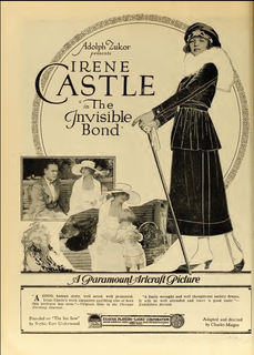 <i>The Invisible Bond</i> 1919 film by Charles Maigne