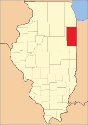 Iroquois County, Illinois - Image: Iroquois County Illinois 1833