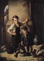 Isidor Popper 1858 - Erste Zigarette eines Schülers.png