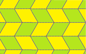 Rhombus - Image: Isohedral tiling p 4 51c