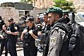 Israeli police officers in Jerusalem on 28 July 2017 pic 2.jpg