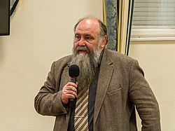 István Monok at the Hungarian Special Libraries Conference 2016.jpg