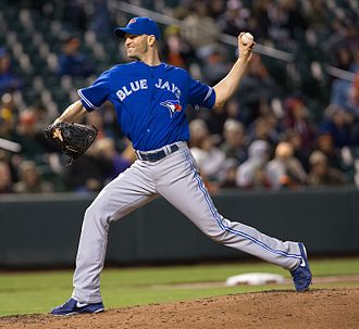 J. A. Happ - Happ with the Blue Jays in April 2013