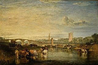 Walton Bridges on the Thames