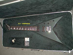 Dave Mustaine - A KV1, same model played by Mustaine before the Y2KV was created.