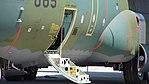 JASDF C-130H(05-1085) crew-entry door(left) at Miho Air Base May 28, 2017.jpg