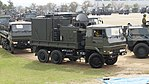 JGSDF Type 73 ougata truck(34-2280) with JMMQ-M5 right front view at Camp Nihonbara October 1, 2017.jpg