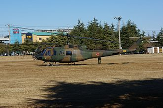 Bell UH-1 Iroquois variants - UH-1J of the Japan Ground Self-Defense Force