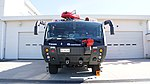 JMSDF Rosenbauer Panther 6x6(41-4126) front view at Maizuru Air Station July 26, 2015.jpg