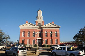 Johnson County Courthouse in Wrightsville