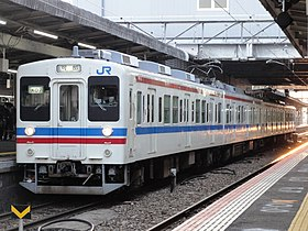 JR West JNR105 series Kabe Line.JPG