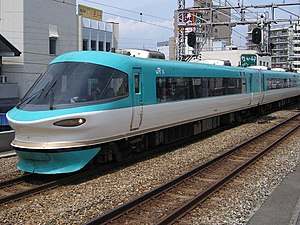 Kisei Main Line - 283 series EMU for Kuroshio limited express