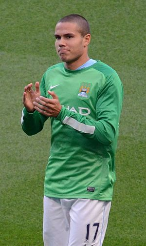 Jack Rodwell - Rodwell training with Manchester City in 2013