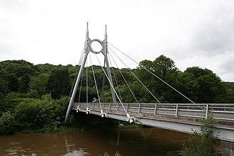 Jackfield - Image: Jackfield Bridge geograph.org.uk 472069