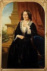 Portret van Maria van Hoboken