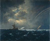 Jacob van Ruisdael - Ships in Stormy Seas.jpeg