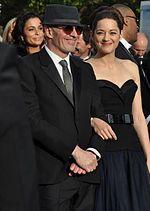 Marion Cotillard con Jacques Audiard al Festival di Cannes 2012