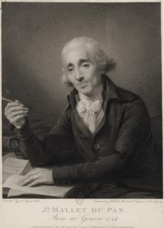 Jacques Mallet du Pan Genevan writer