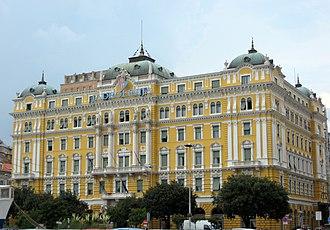 Jadrolinija - The headquarters of Jadrolinija in Rijeka, Croatia
