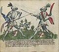 Jagiellonian Ms.Germ.Quart.16 (Gladiatoria) 09v - Longsword in armor.jpg