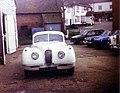 Jaguar XK120 at Garage in Goudhurst Centre - geograph.org.uk - 1259965.jpg