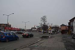 Intersection of Jamaica Avenue and Hollis Avenue