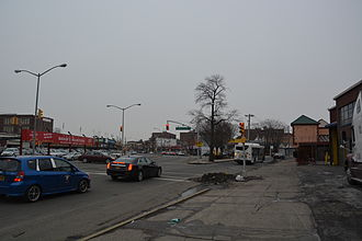 Hollis, Queens - Intersection of Jamaica Avenue and Hollis Avenue