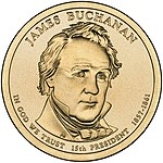 James Buchanan $1 Presidential Coin obverse sketch.jpg