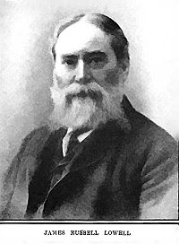 James Russell Lowell in later life