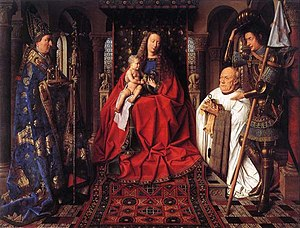 Groeningemuseum - Jan van Eyck's The Madonna with Canon van der Paele is one of the masterpieces of the museum
