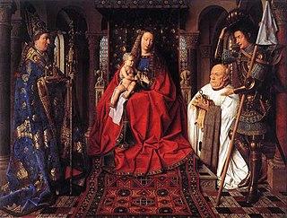 c. 1434 panel painting by Jan van Eyck