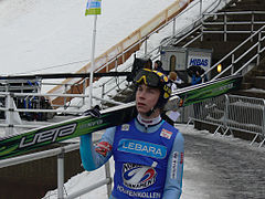 Janne Happonen am Holmenkollen 2008