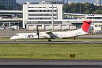 Japan Air Commuter, DHC-8-400, JA846C (17165704338).jpg