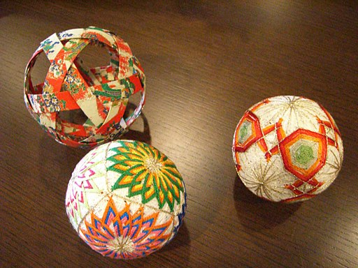 Japanese folk art; Temari;手鞠