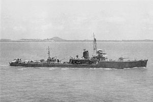 Japanese minesweeper No7 in 1942