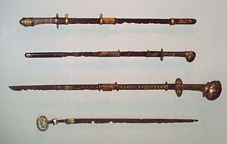 Chokutō - Japanese straight swords, 6-7th century, Kofun period, Met Museum.