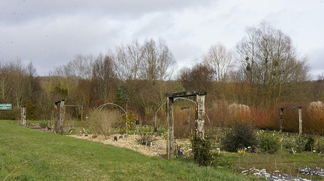 Jardin_au lieu dit la_Presle classé au titre de Jardin remarquable .