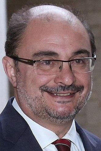 Aragonese regional election, 2015 - Image: Javier Lambán 2016 (cropped)