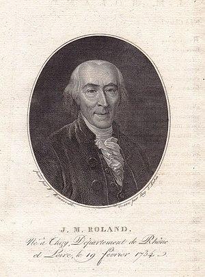 Jean-Marie Roland, vicomte de la Platière - Jean-Marie Roland de la Platière.
