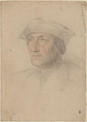 Louis de Brézé - possible portrait of Louis de Brézé (school of Jean Clouet)