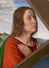 Fragment from Christ Carrying the Cross: Saint John the Evangelist