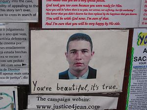 Shrine to Jean Charles de Menezes, Stockwell t...