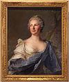 Jean marc nattier, ritratto di barbara luigia d'adda, sposa di antonio barbiano di belgiojoso, 1747.JPG